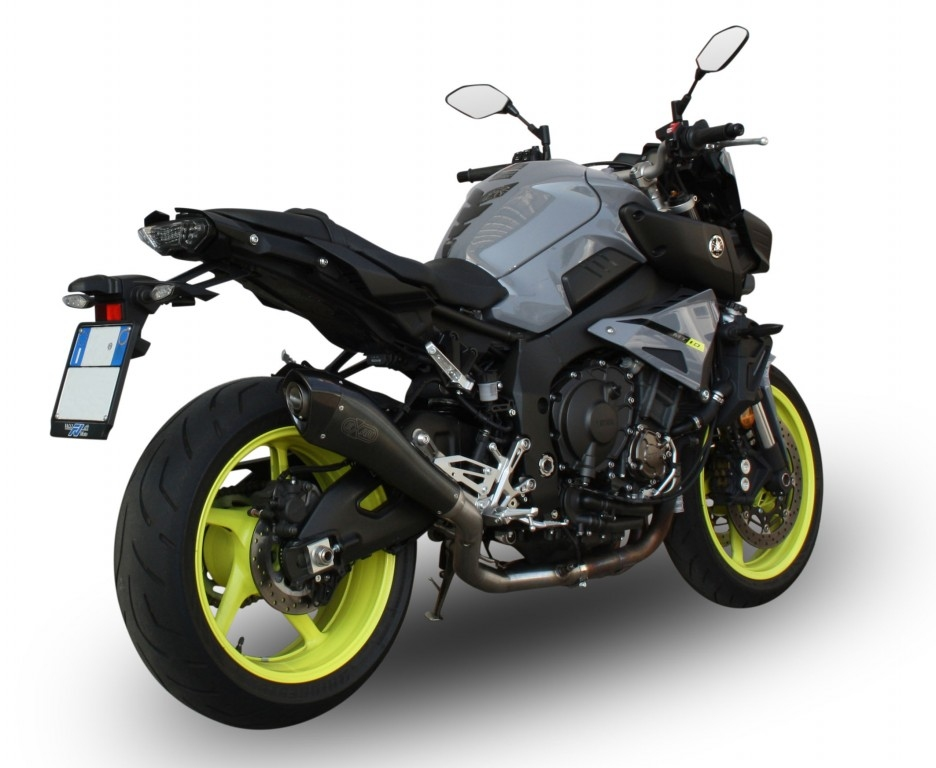 Новые глушители EXAN для Yamaha MT-10