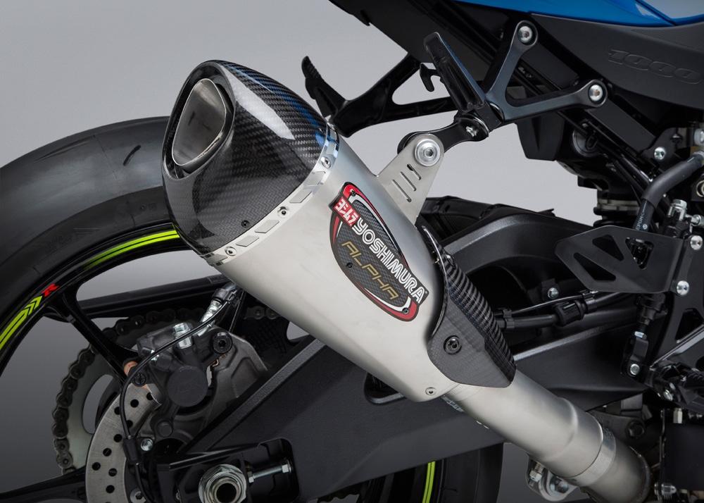 Новые выхлопные Yoshimura для Suzuki GSX-R1000 2017