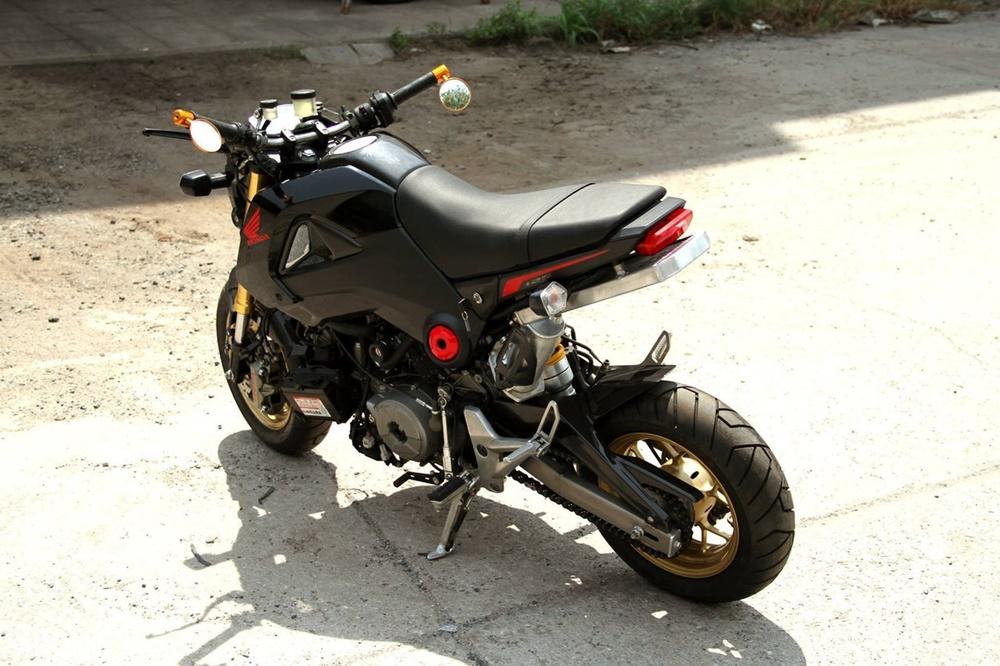 Минибайк Honda MSX  с мотором Ducati 1199 Panigale R