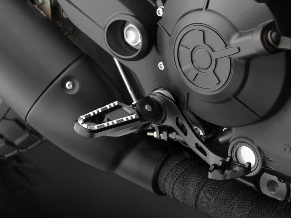 Мотоцикл Ducati Scrambler 2016 с аксессуарами Rizoma