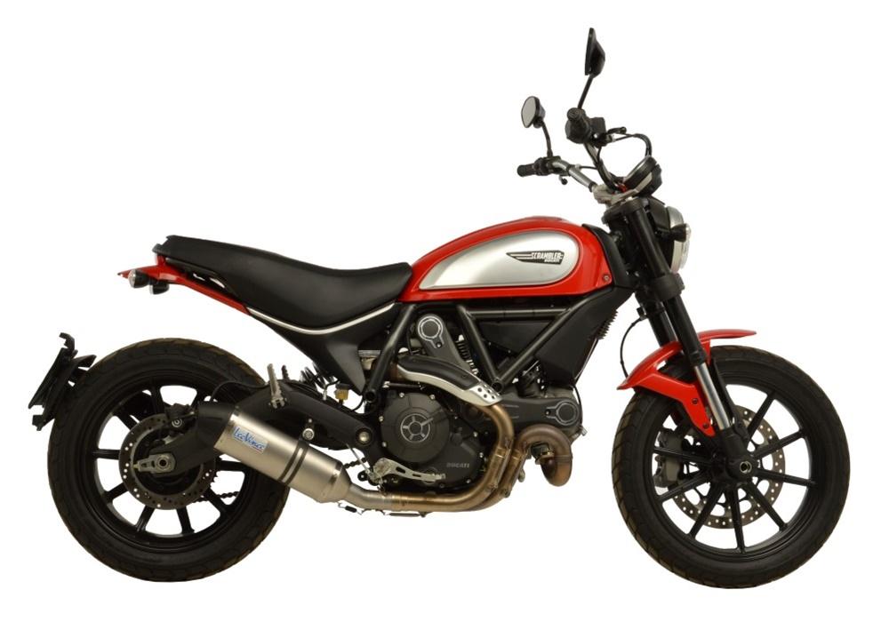 Новые выхлопные LeoVince для Ducati Scrambler 800