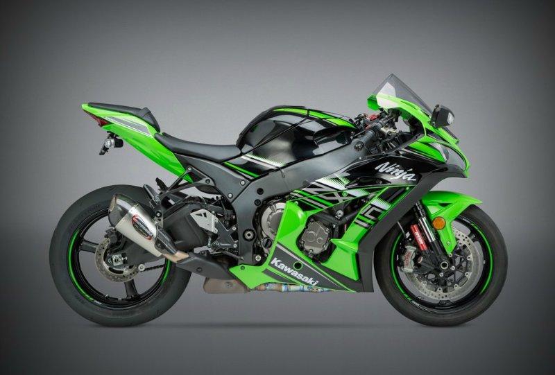 Глушители Yoshimura Alpha T для спортивных мотоциклов