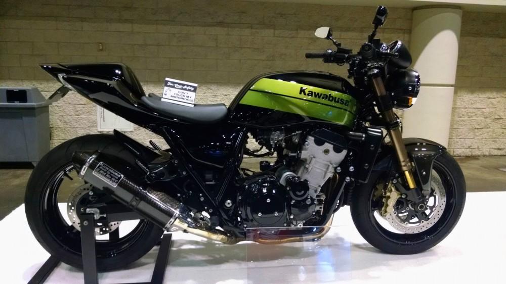 Мотоцикл Kawabusa 2 появился на eBay
