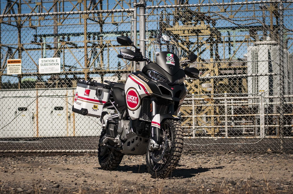 MotoCorsa: мотоцикл Ducati Multistrada 1200 Enduro Lucky Strike