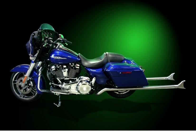 51-дюймовый выхлоп Samson Exhausts для Harley-Davidson
