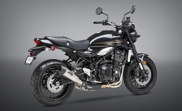 Новый глушитель Yoshimura R-34 для мотоцикла Kawasaki Z900RS