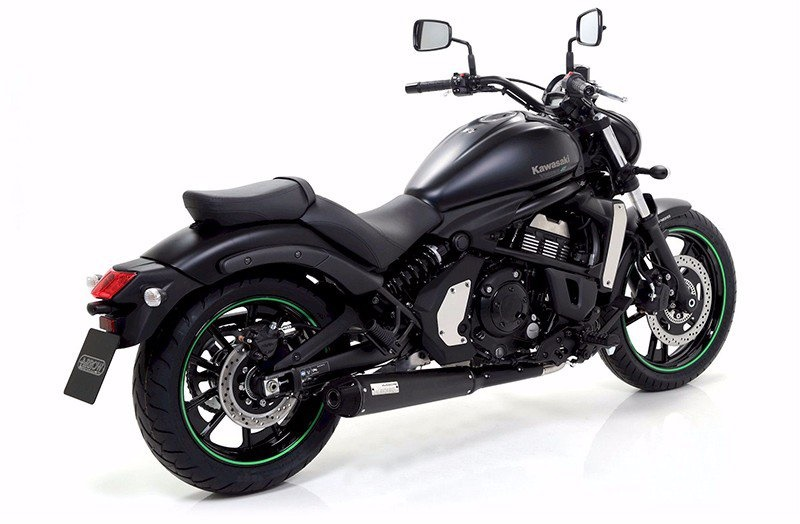 Выхлоп Arrow Rebel для Kawasaki Vulcan S и Yamaha Star Bolt