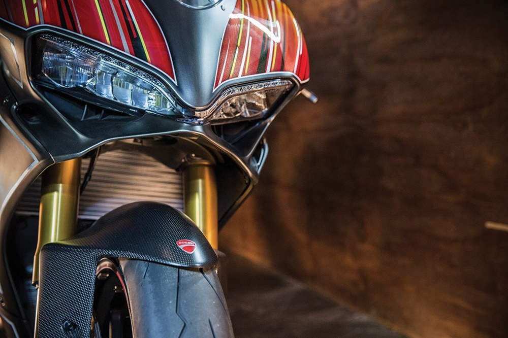 Roland Sands Designs: спортбайк Ducati 1299 Panigale KH9
