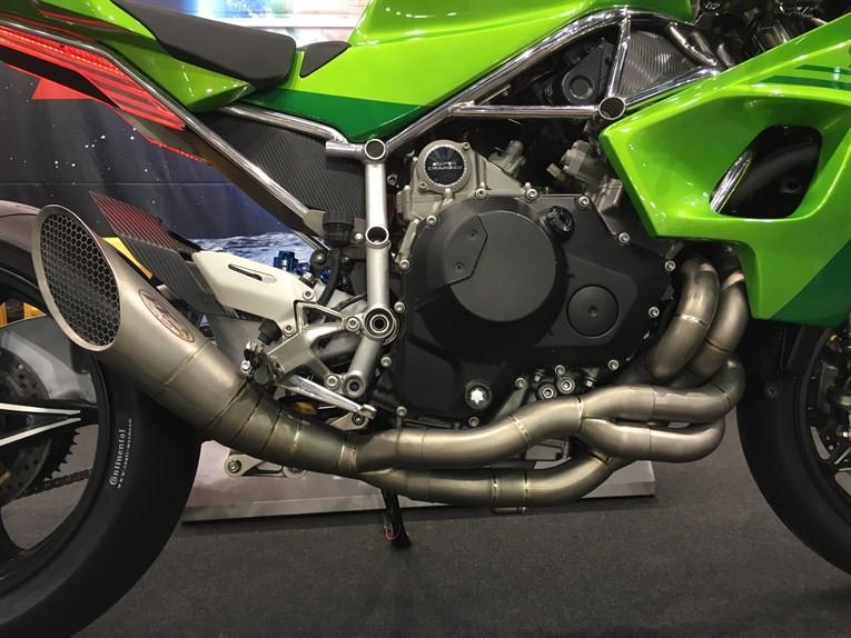 Мотоцикл Kawasaki Ninja H2LD