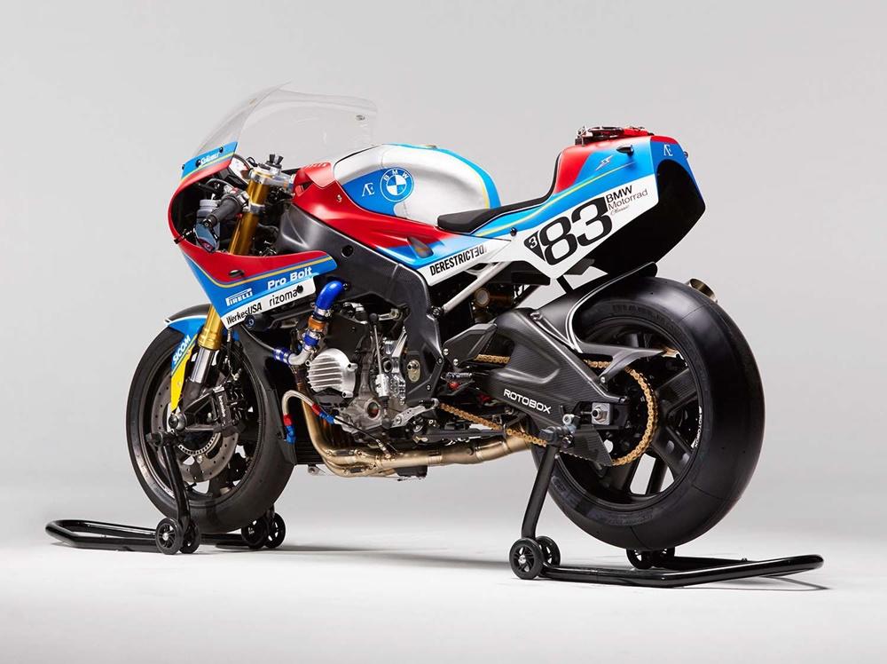 Praëm BMW S1000RR - современный супербайк с ретро дизайном