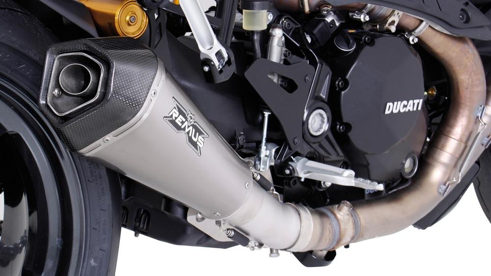 Новый глушитель Remus Hypercone для Ducati Monster 1200R