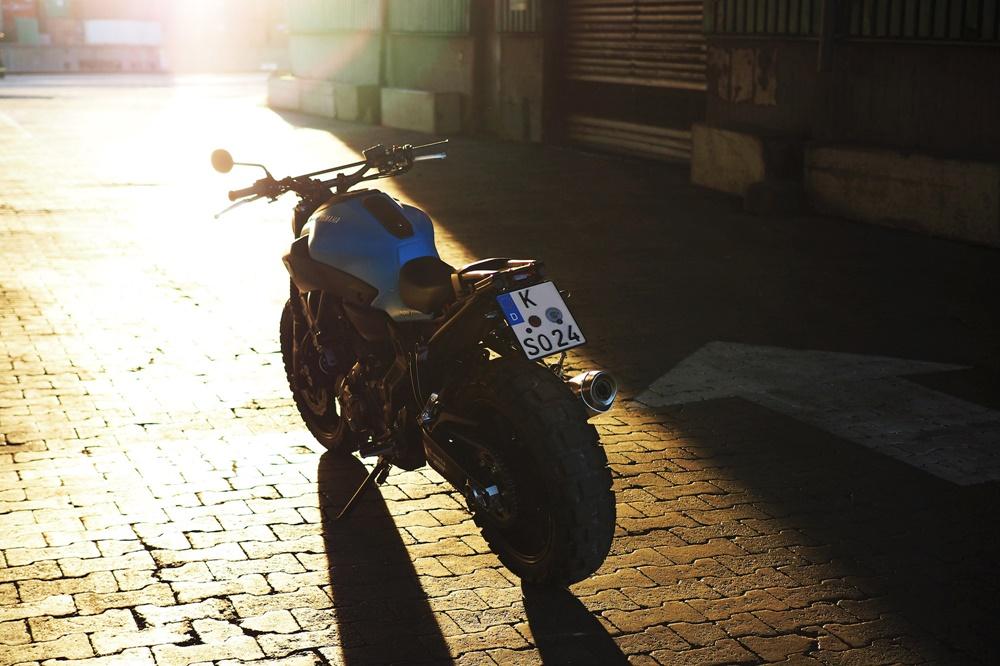 JvB-moto: проект Yamaha MT-07