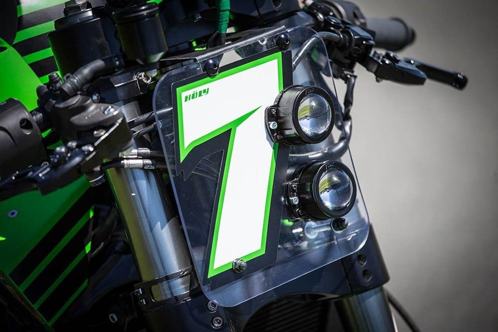SuperSys: Kawasaki Versys 650 Turbo от Motorrad Holy