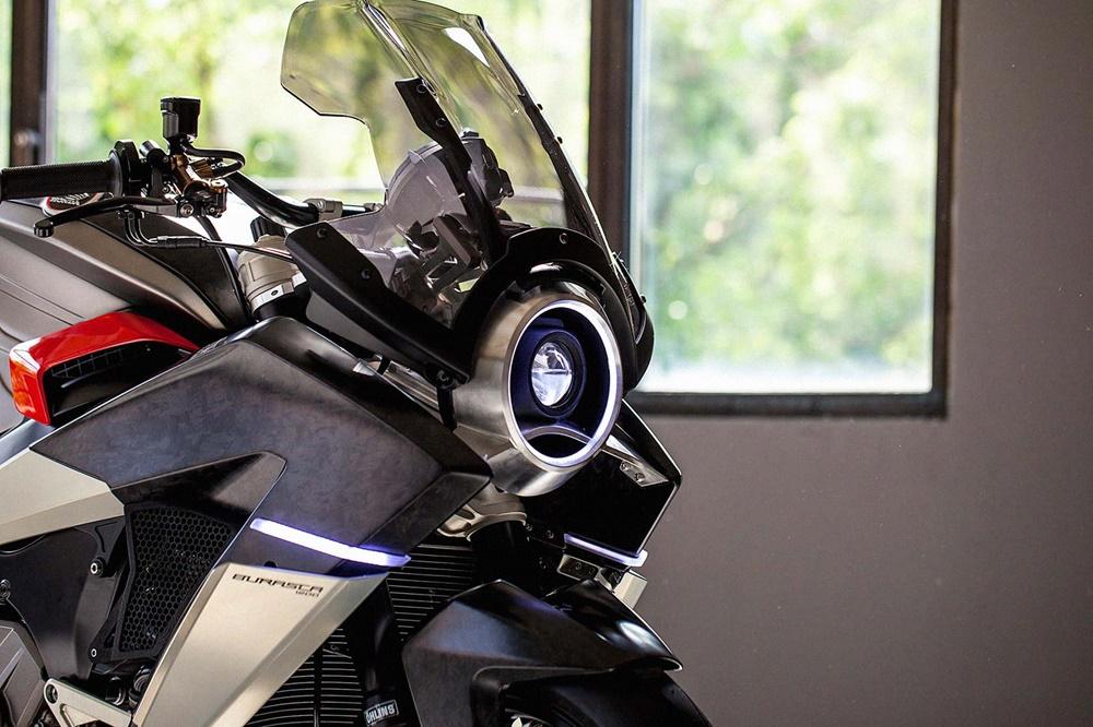 Альдо Друди: Burasca 1200 - тюнингованный мотоцикл Honda VFR1200F