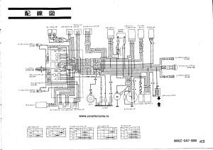 Схема электрооборудования скутеров Honda Taсt Fullmark AF15