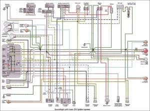 Схема электрооборудования скутеров Peugeot Speedfight CDI