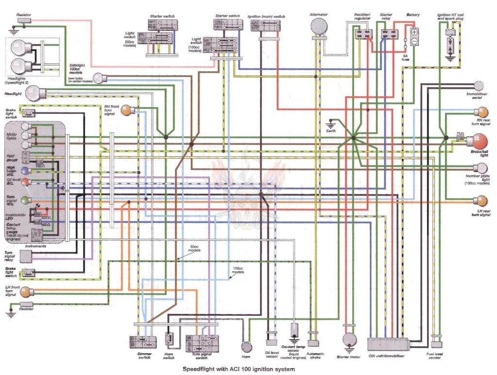 Схема электрики на альфу