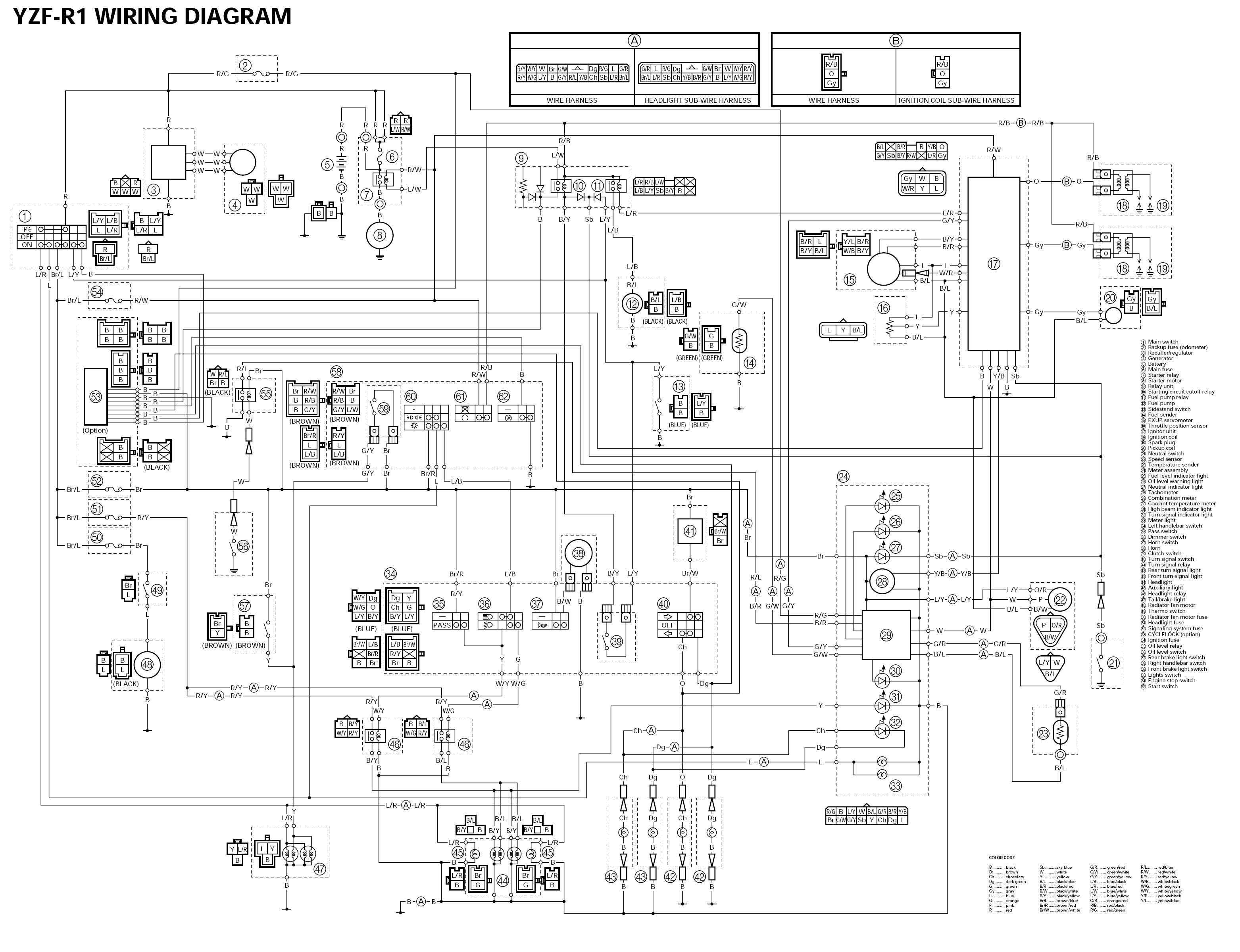 схема квадроцикла в деталях