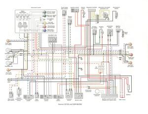 Схема электрооборудования скутеров Gilera Runner VX125 VXR180 VXR200