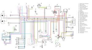 Схема электрооборудования мотоциклов Cagiva Mito