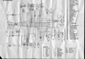 Схема электрооборудования скутеров MBK Fizz 50