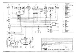 Схема электрооборудования скутеров Italjet Formula