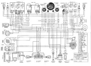 Схема электрооборудования скутеров Malaguti F15 Firefox