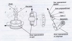 регулировка переключения передач мотоблока НЕВА МК-200