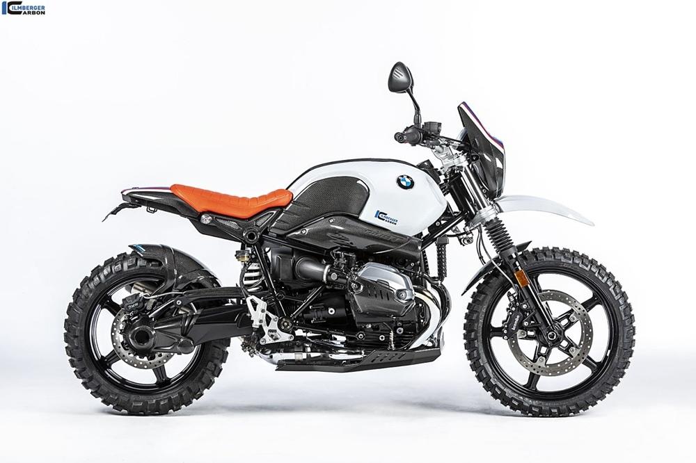 Мотоцикл Ilmberger-BMW R nineT Urban G/S с карбоновыми компонентами