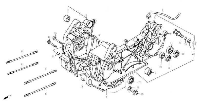 Двигатель 157QMJ