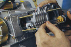 Установка тюнинговой поршневой 72сс на двигатель 139QMB