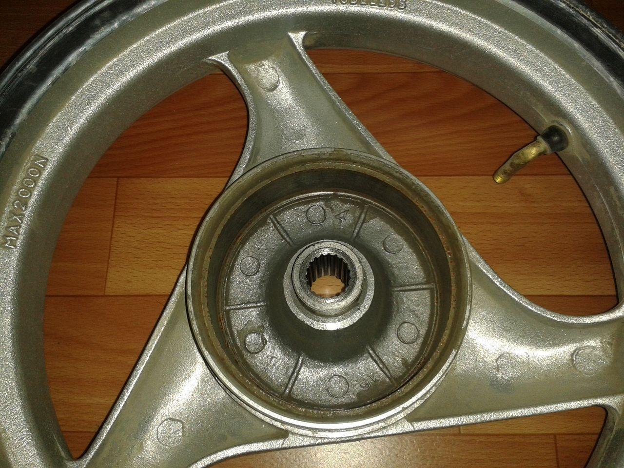 Установка заднего дискового тормоза на Racer Sagita