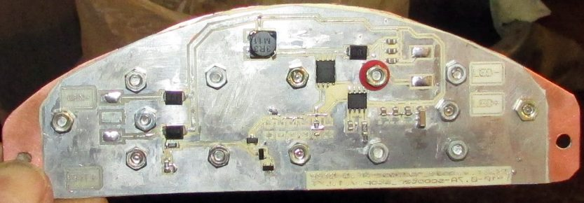 Сторона с радиодеталями
